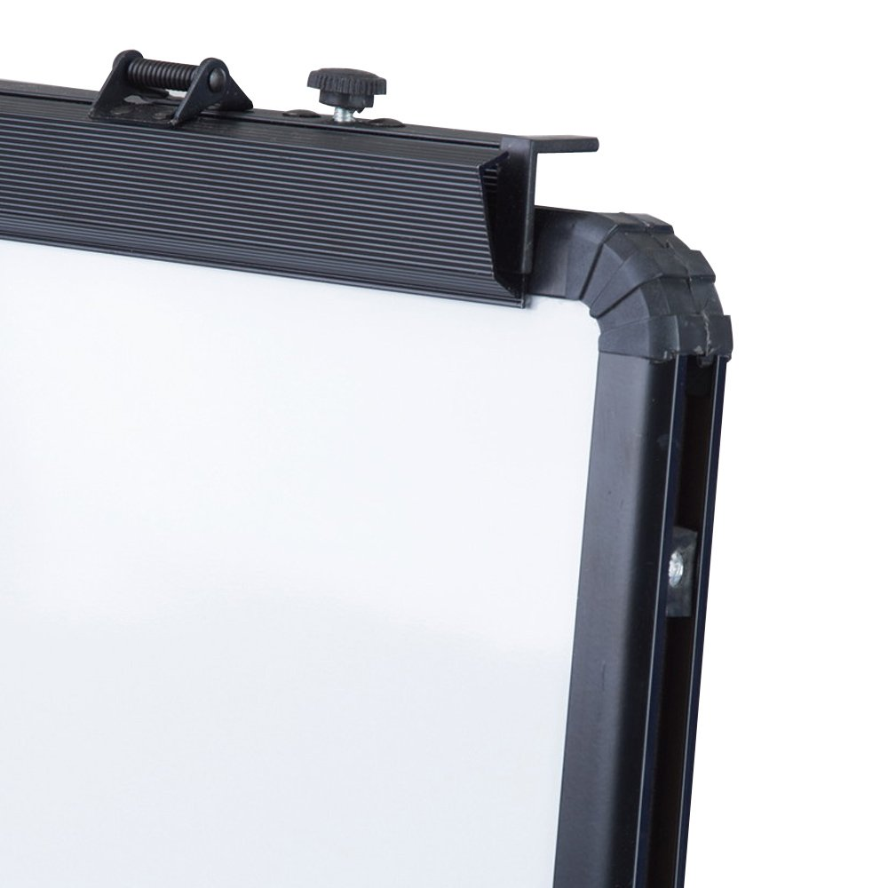 Case of 10, VIZ-PRO ECO Magnetic U-Stand Whiteboard/Flipchart Easel, 28'' X 36'', Black by VIZ-PRO (Image #4)