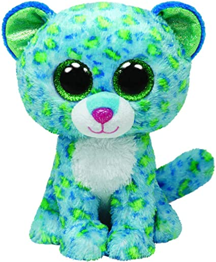 """3.2/"""" TY Beanies Boos With Tag Key Clip Dotty Leopard Plush Stuffed Toys New"""
