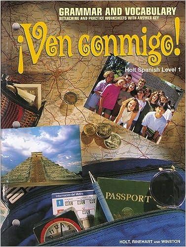 Printables Spanish Level 1 Worksheets spanish level 1 worksheets hypeelite holt grammar and vocabulary worksheets