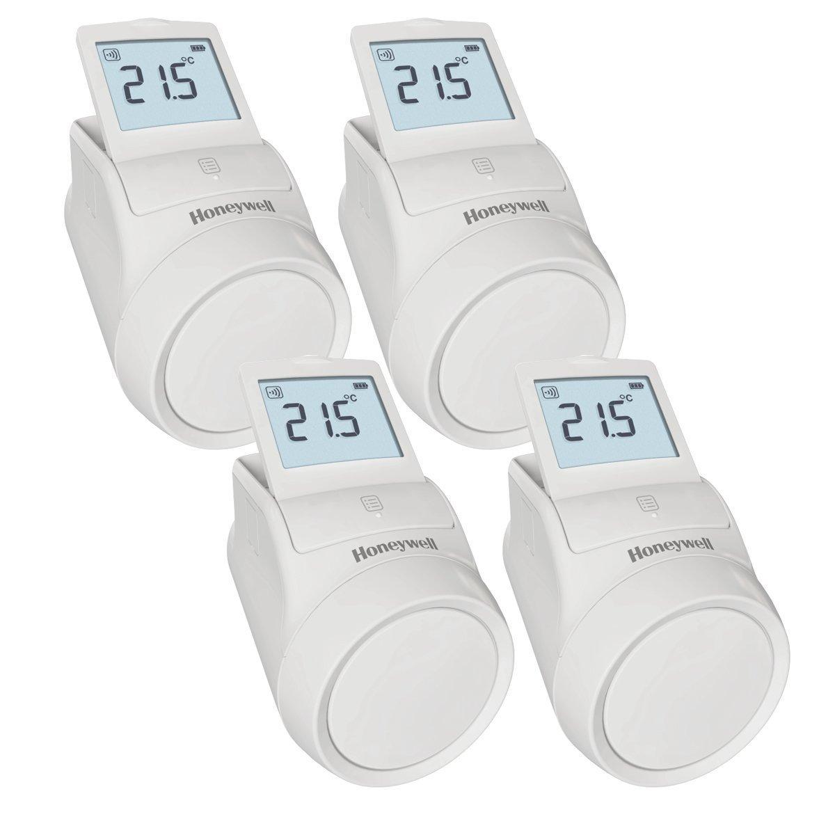 HONEYWELL; Termostato grifo de radiador wifi kid 4 unidades ...