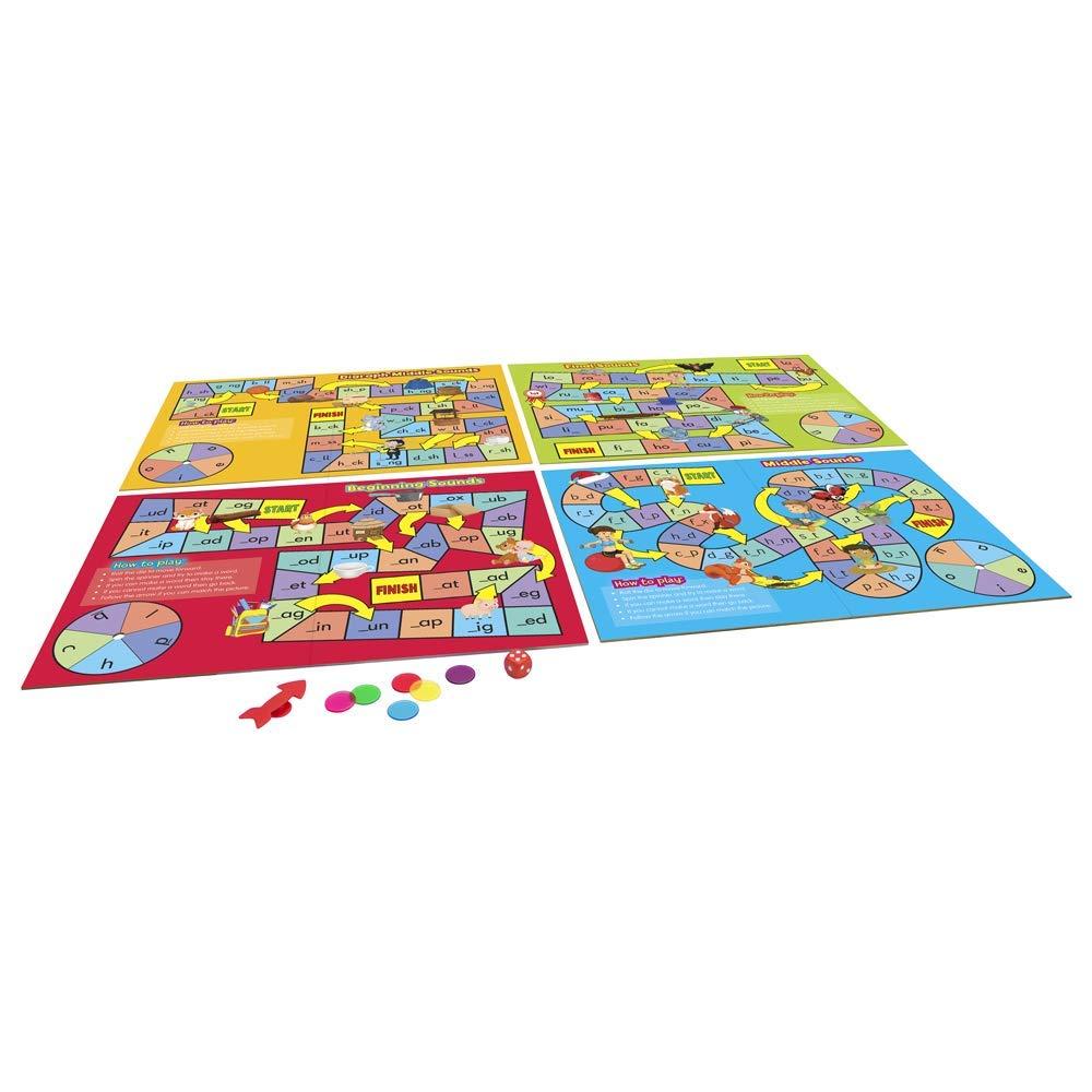 Junior Learning Phonics Board Games
