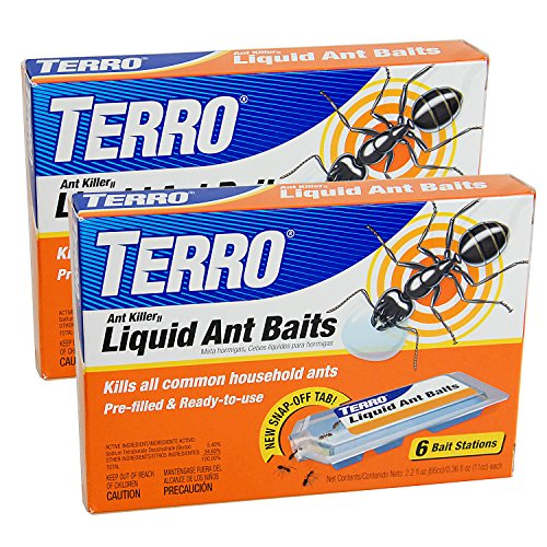 Terro T300B 2-Pack Liquid Ant - Ant Bait Stations Liquid