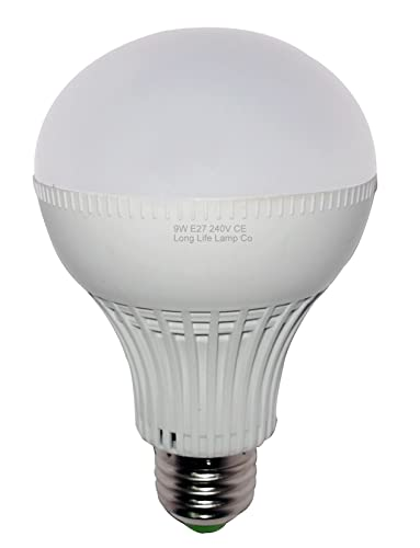 Led Lampe 9 W E27 670 Lm Sehr Hell Warmweiss Entspricht 65 W