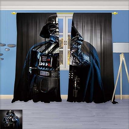 AmaPark 2 Panels Room Darkening Blackout Curtains, SAN Benedetto DEL on