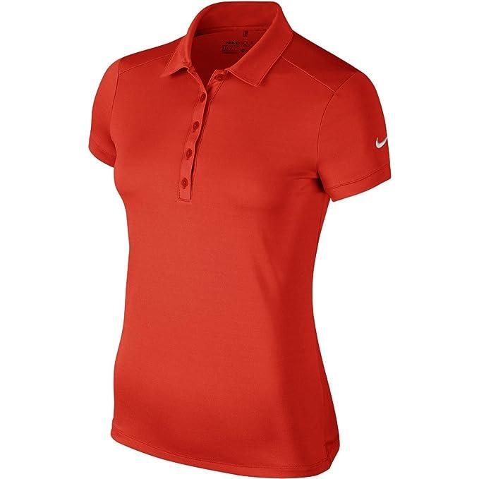 NIKE Damen Polo Hemd Victory Solid
