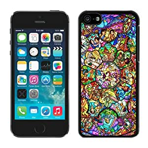 Fashionable All character disney Black Cell Phone Case for iPhone 5c Generation