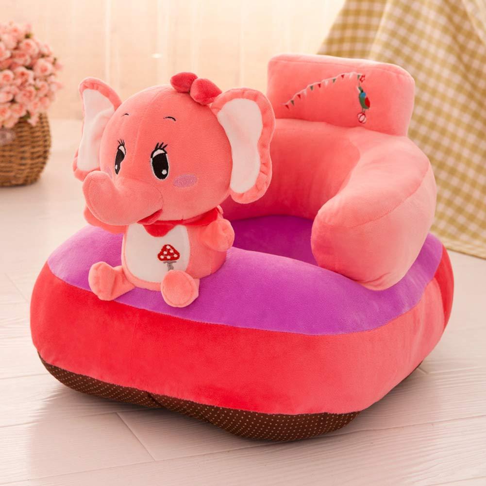 Y&Y Bean Bag Chair,Kid Plush Stuffed Children's Plush Chair Cartoon Animal Kid Sofa Chair Child Toy Furniture for boy Girl Gift -Pink