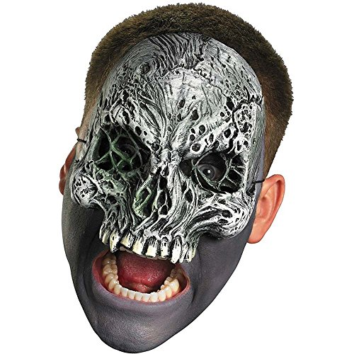Chinless Dark Skull Adult Vinyl Mask - Disguise Costumes Chinless Dark Skull Vinyl
