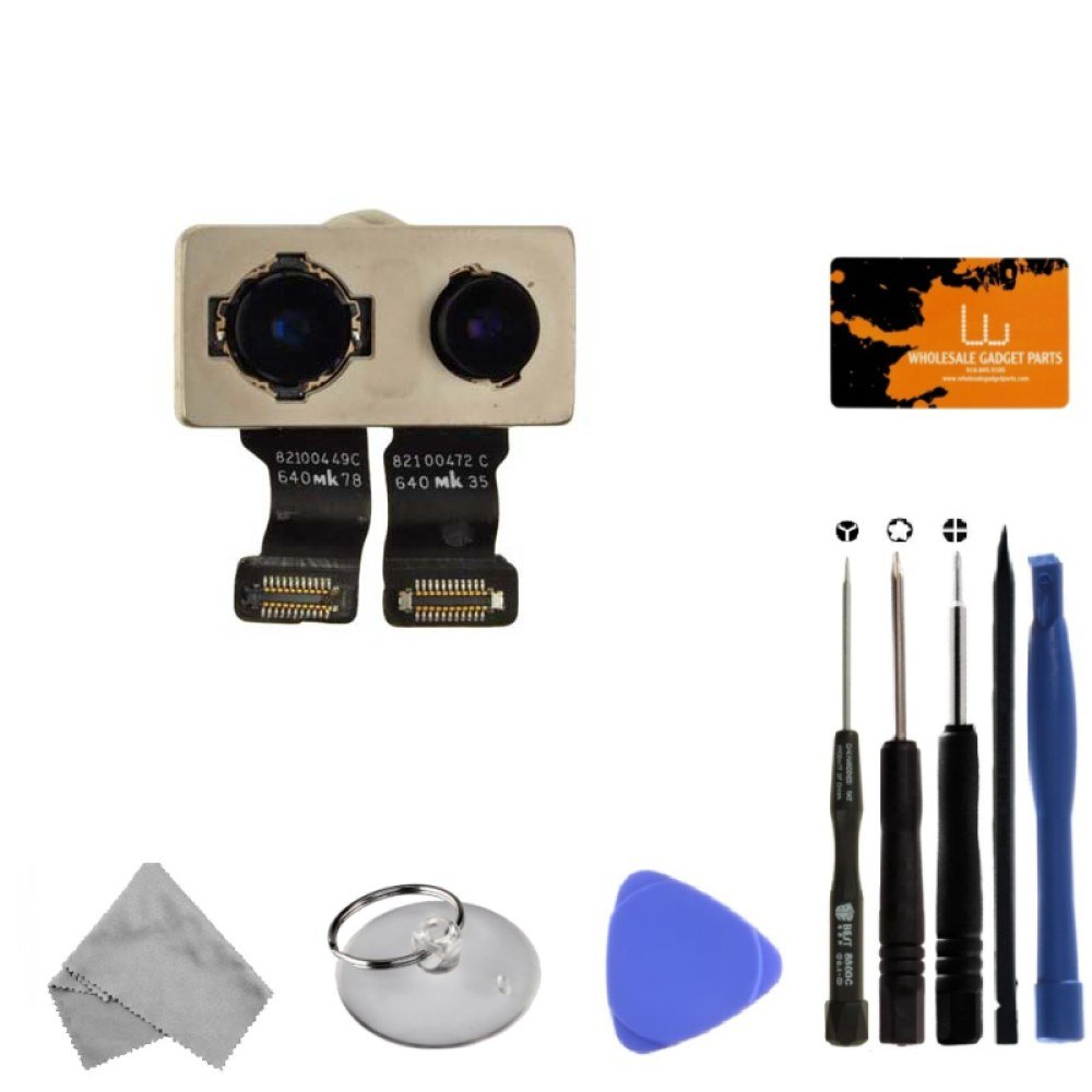 Rear Camera Assembly for Apple iPhone 7 Plus (CDMA & GSM) with Tool Kit by Wholesale Gadget Parts (Image #1)