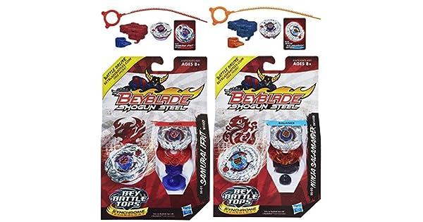 Beyblade Shogun Steel Samurai Ifrit W145CF SS-01 Top  Ninja Salamander SW145SD
