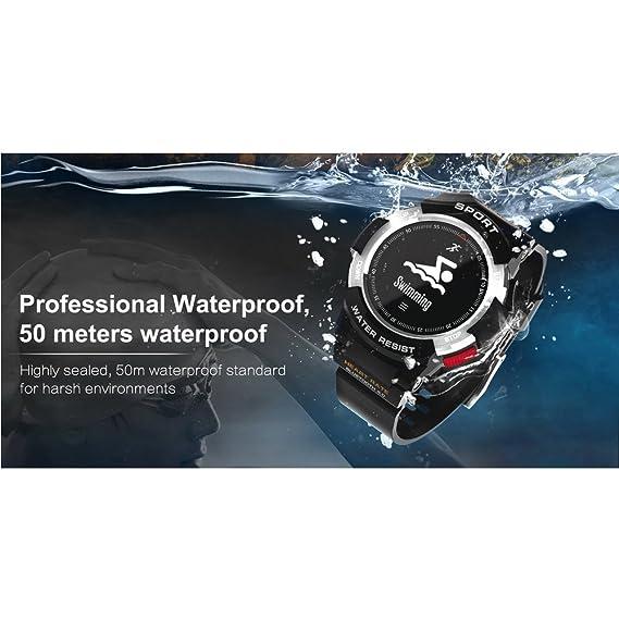 Amazon.com: Smart Watches F6 50m Waterproof Smartwatches ...