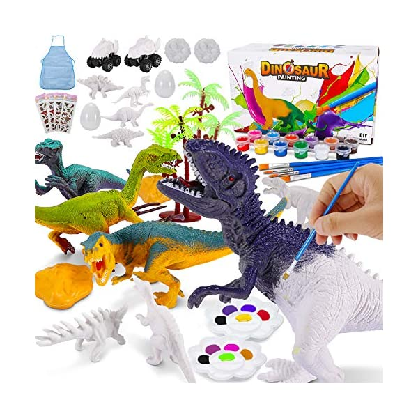 Party Favors Dinosaur Name Painting Art Kit Gifts For Kids