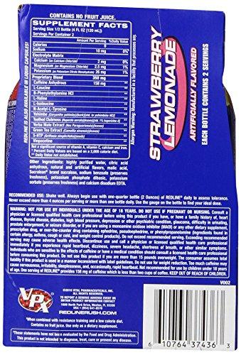 Vpx Redline Rtd, Strawberry Lemonade, 8-Ounce (Pack of 24)