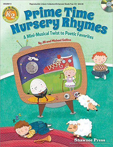 Read Online Primetime Nursery Rhymes (Book/CD with reproducilble pages) ebook