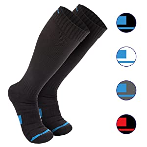 Wanderlust Compression Socks for Men & Women - Eliminate Pain, Swelling, Edema