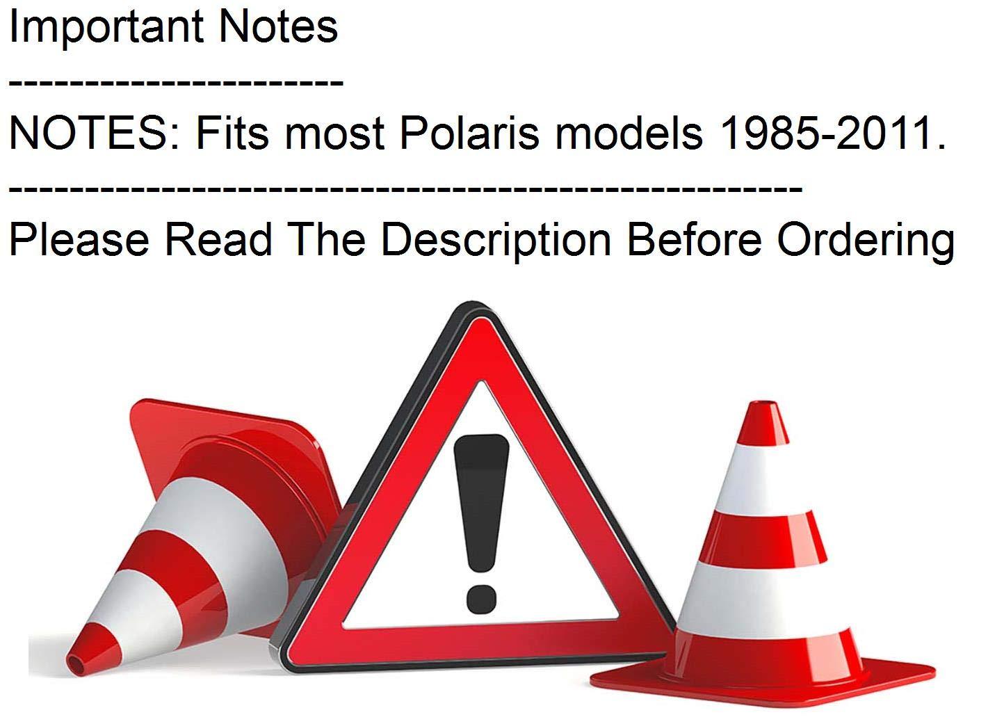 Taillight Lens For 2007 Polaris Sportsman 800 EFI ATV~Emgo 62-21563
