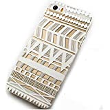 6 Case, iPhone 6 Case -LUOLNH Henna Itzli Mayan Aztec tribal native american indian ethnic Clear Pattern Premium ULTRA SLIM Hard Cover for iPhone 6/6s (4.7)