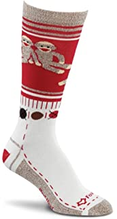 Amazon.com : Fox River Women's Red Heel Merino Monkey Stripe Crew ...