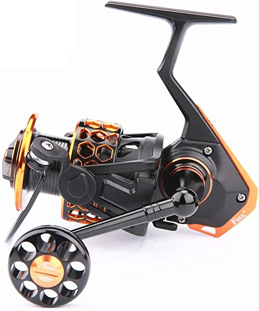 Carretes de Pesca Spinning, 4000 Todos los Accesorios Son de Metal ...