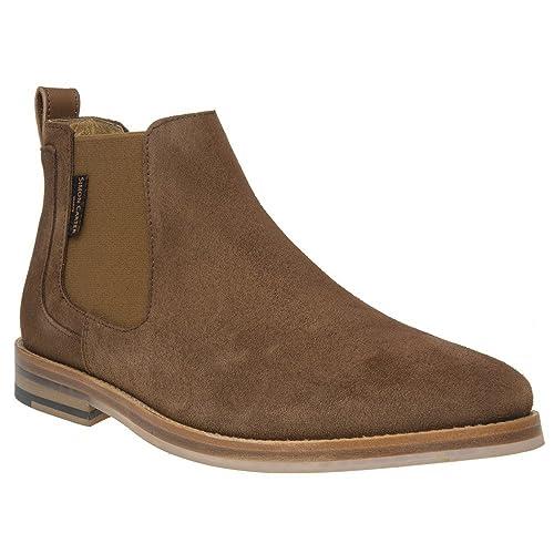 Simon Carter Harmer Homme Boots Fauve  Amazon.fr  Chaussures et Sacs 6c8adf8fe8b2