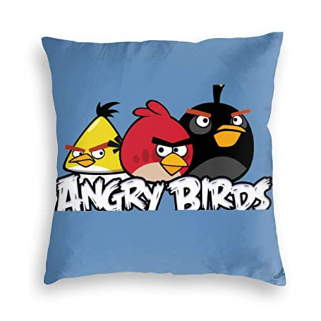 Amazon.com: LeoBird Angry Birds Juego de fundas de almohada ...