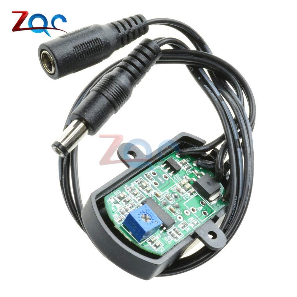 DC 5V 12V 24V 5A PIR Sensor Switch Mini PIR Infrared IR Motion Sensor Detector Switch Module for LED Strip Light