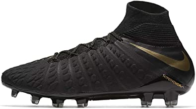 ca41d5c4a17e Nike Men s Hypervenom Phantom III Elite DF FG Football Boots Black 7.5 UK