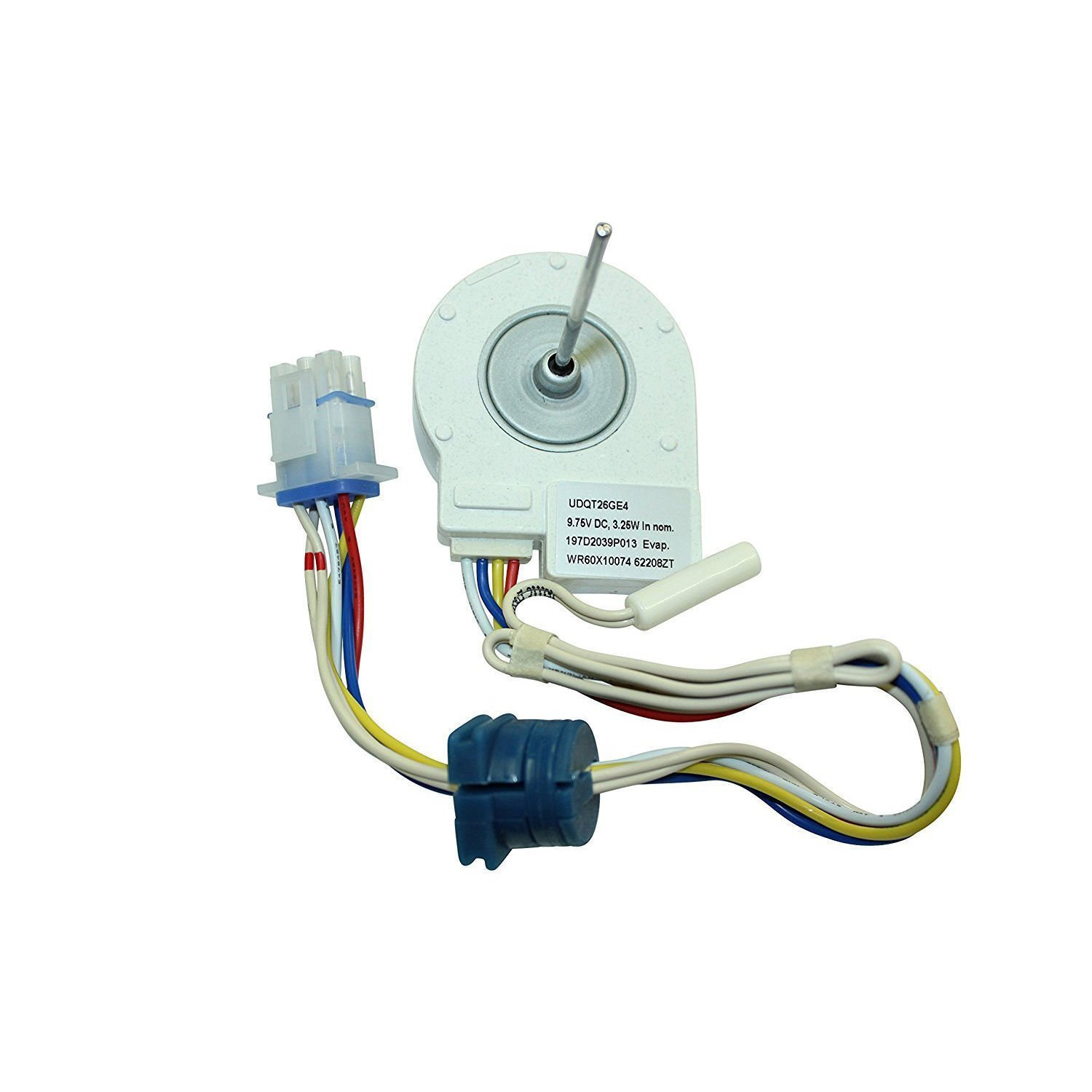 WR60X10074 Refrigerator Evaporator Fan Motor Replacement For GE
