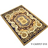 "YOUSA European Carpet Non-slip Rugs and Carpet for Bedroom/Livingroom 63""x90"" Review"