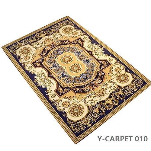 "YOUSA European Carpet Non-slip Rugs and Carpet for Bedroom/Livingroom 63""x90"" Review"