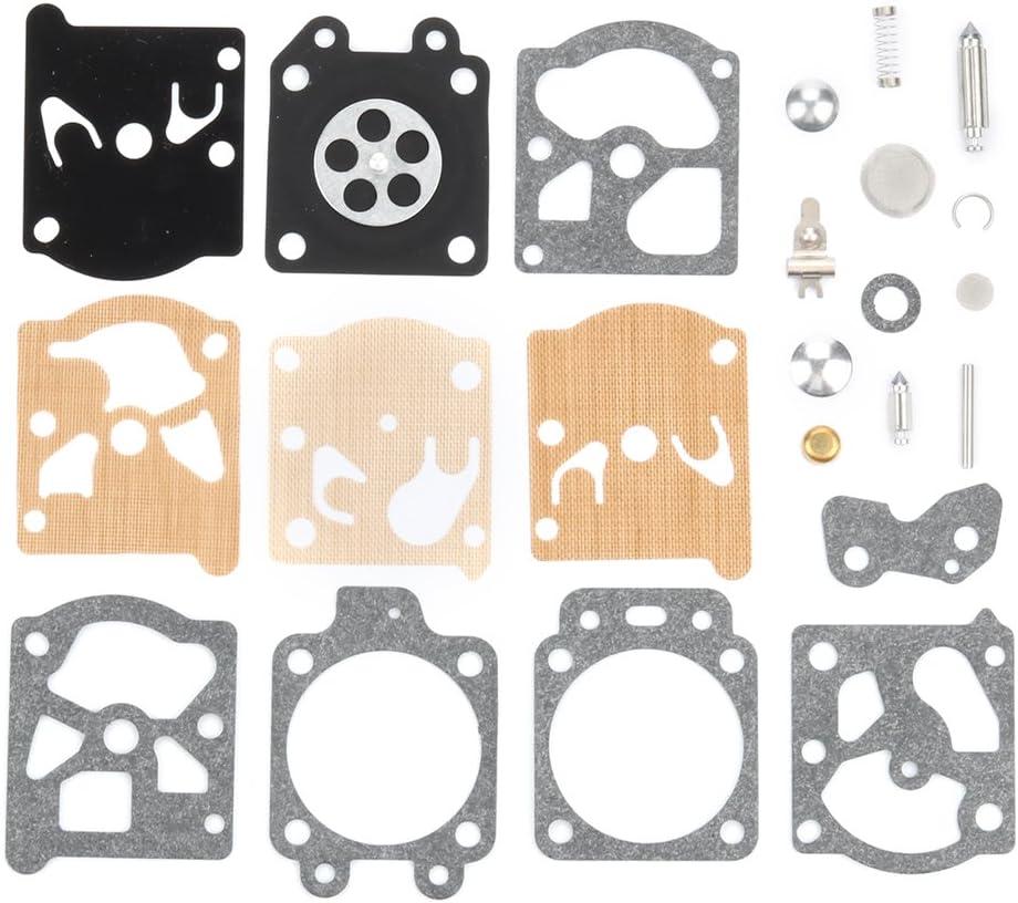 K20-HAD Carburateur Carb Diaphragme /& Kit D/'étanchéité Kit Fit Homelite 300