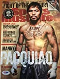 Manny Pacquiao Autographed Sports Illustrated PSA