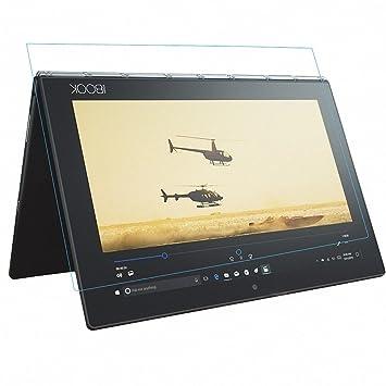 G-Hawk® For Lenovo YOGA BOOK YB-X90F/91F 10.1 Protector de Pantalla,Cobertura Completa 0.30mm de Espesor 9H Dureza Protector de Pantalla de Vidrio ...