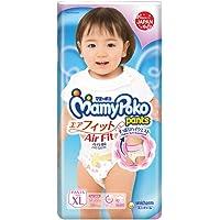 MamyPoko Air Fit Pants Girl, XL, 38ct (Packaing may vary)