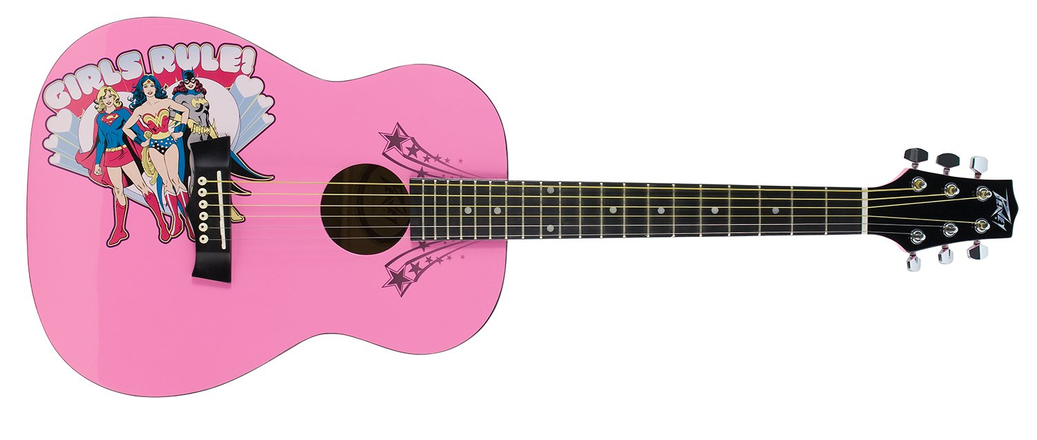 Peavey 03019680 DC Girls Rule 3/4 Size Acoustic Guitar