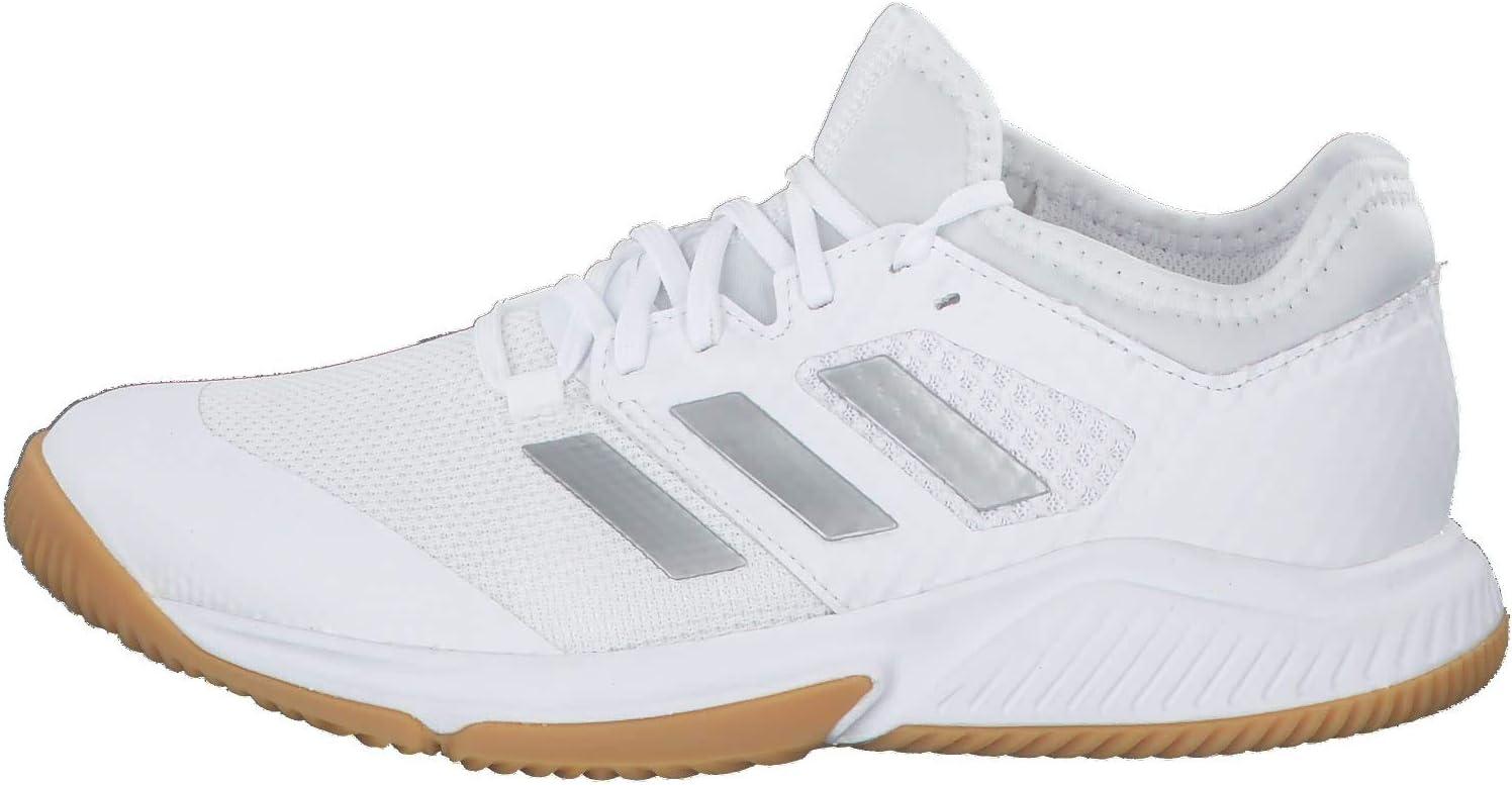 Adidas Court Team Bounce W Sportschoen voor dames Ftwr White Silver White Met Ftwr