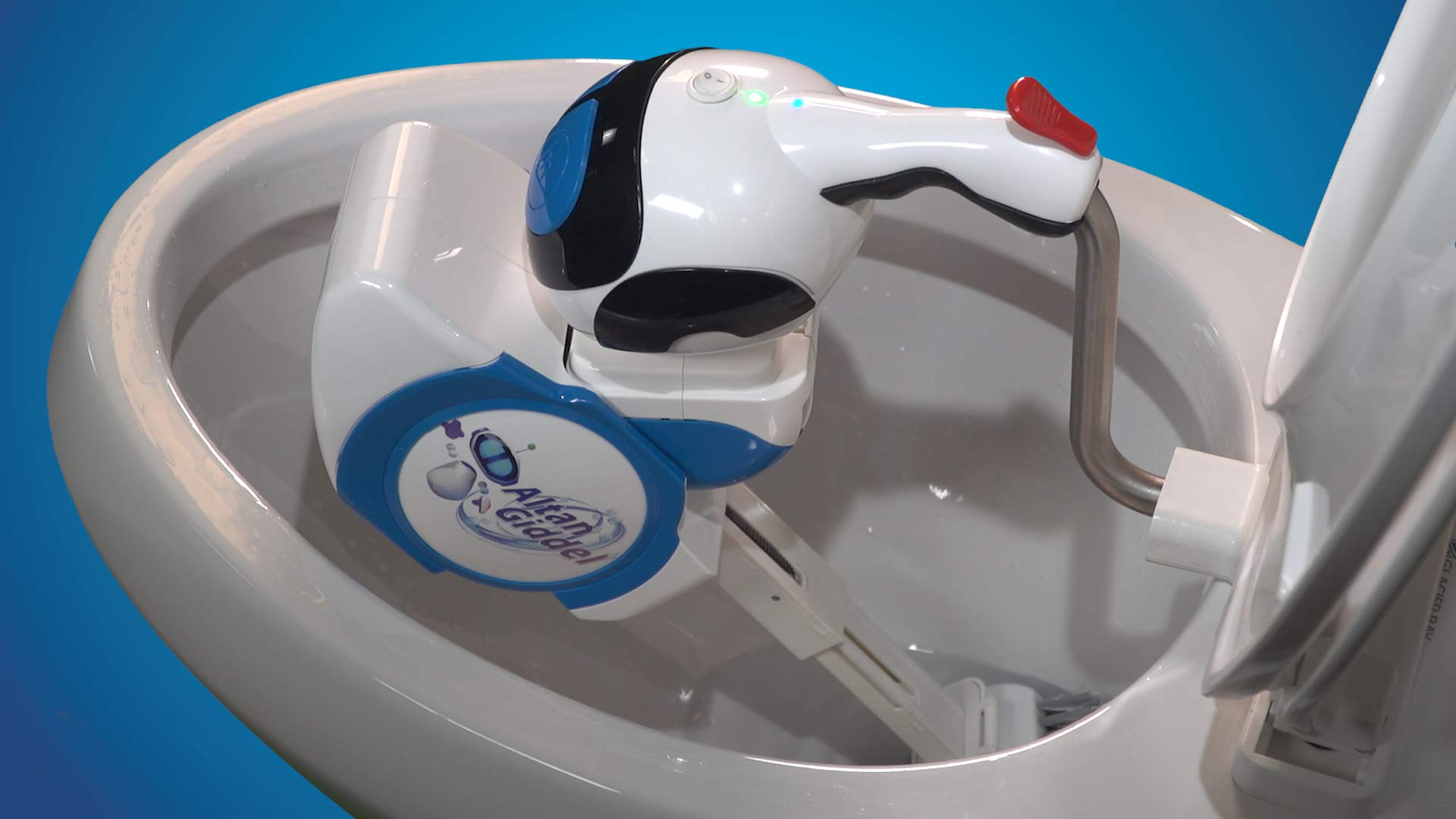 Giddel Toilet Cleaning Robot