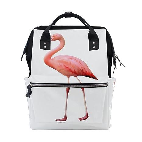 BENNIGIRY - Bolsa de pañales con diseño de flamenco para ...