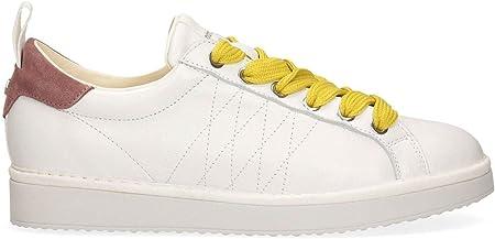 Panchic P01 Original - Zapatos de Mujer Blanco y Rosa - P01W16001L1A00567-WBROWN