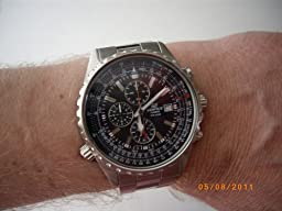 Casio Herren-Armbanduhr Edifice Chronograph Analog Quarz