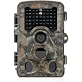 Distianert Trail Camera 12MP 1080P ( Photo Max Resolution is 16MP) Wildlife Game Camera Low Glow with 0.6S Trigger Time 80 FT Detection Range 120°Range & 47 Pcs IR LEDs for Wildlife Monitoring