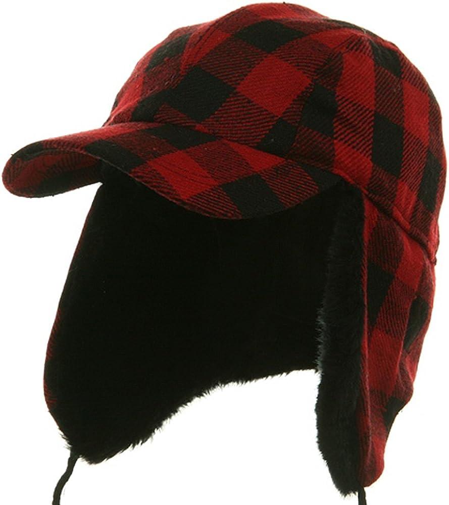Buffalo Plaid Hunter Cap