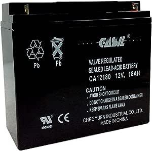 VICI Battery VB18-12 12V 18AH Replacement for SLAA12-18NB 12V 18Ah UPS Battery