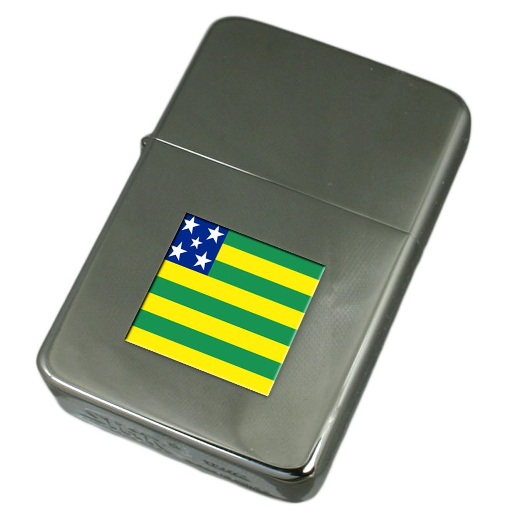 Engraved Lighter Goiás Flag
