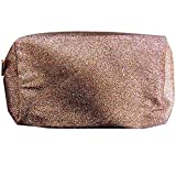 Sephora Rose Gold Bling Cosmetic Bag Travel Makeup Train Cases Storage Organizer (3 Packs)