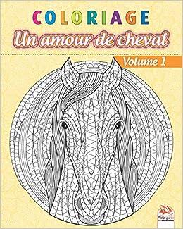 Coloriage Un Amour De Cheval Volume 1 Livre De Coloriage Pour
