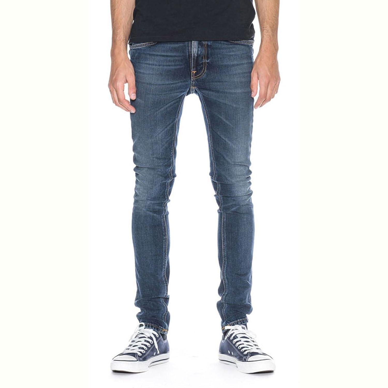 [ヌーディージーンズ] Nudie Jeans 正規販売店 メンズ ジーンズ Lean Dean 644 Deep Dark Indigo 112231 (コード:4106036205-1-1) B01LXUHBWH  L32 W33