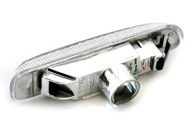 Klarglas Chrom AD Tuning GmbH /& Co KG 960019 Seitenblinker Set