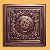 30pc of Majesty Copper/Black (24''x24'' PVC 20 mil) Ceiling Tiles - Covers About 120sqft