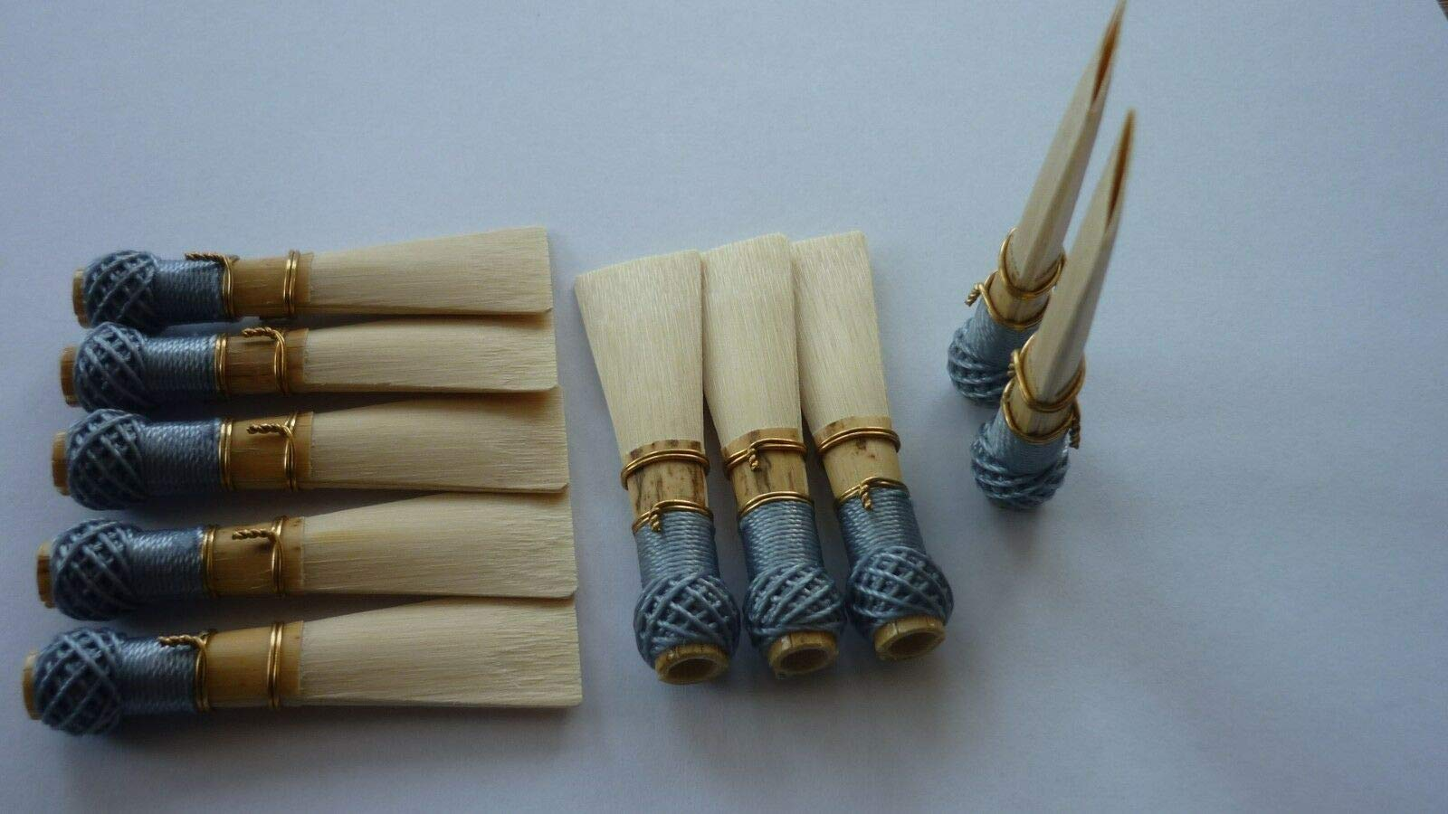 FidgetKute 10 Bassoon Reed Blanks Open tip from Donati Cane R2 /dukov_Reeds DiR2O Show One Size